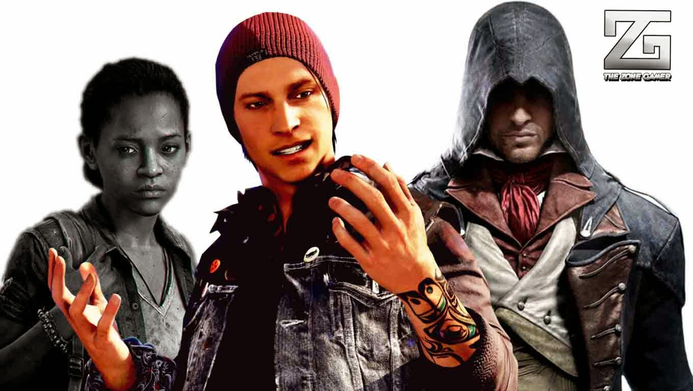 top 10 video game characters of 2014