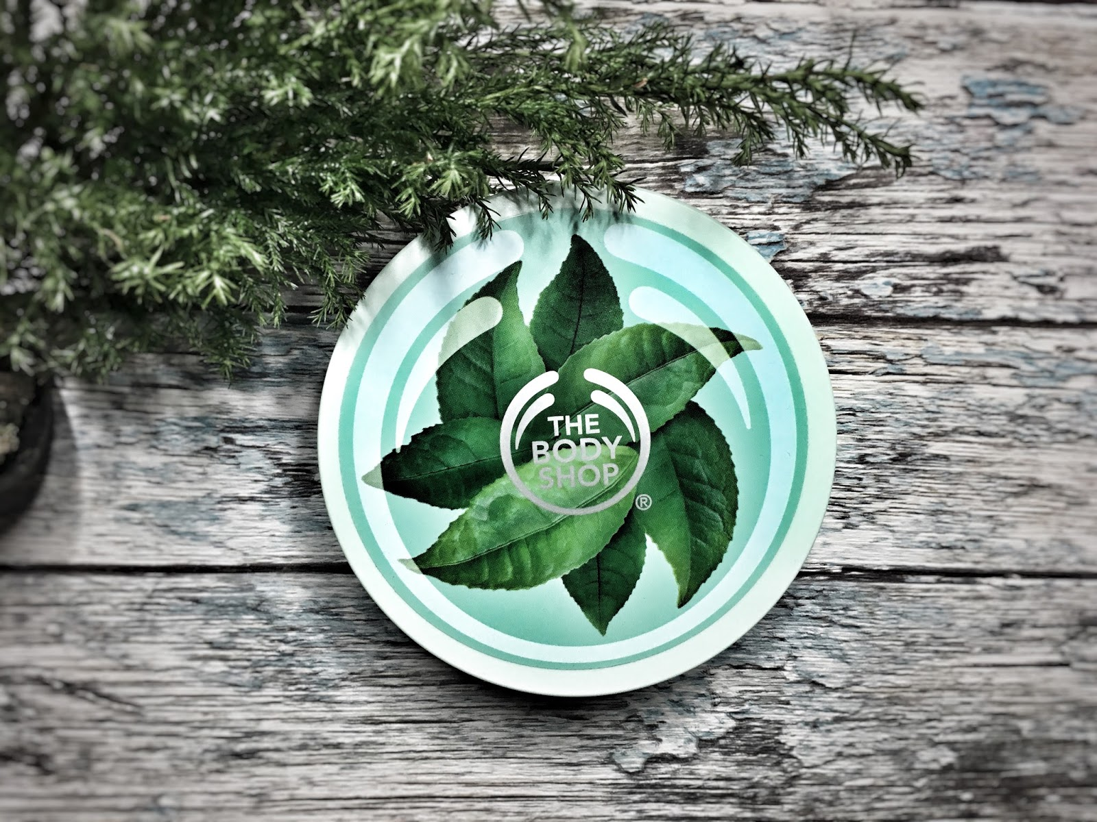 Trochę lata zimą - Fuji Green Tea, The Body Shop
