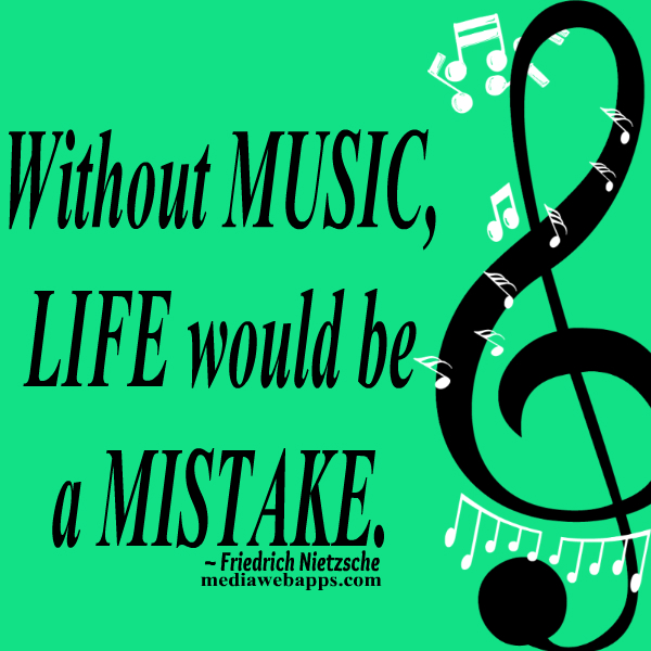 Inspirational Quotes About Music And Life New 5 Links And Inspirational Quotes  Music Matters Inclusive