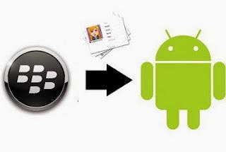 Cara Memindah Kontak BlackBerry ke Android image