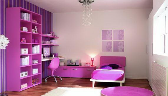 Chambre A Coucher Gris : chambre fille mauve  chambre de fille