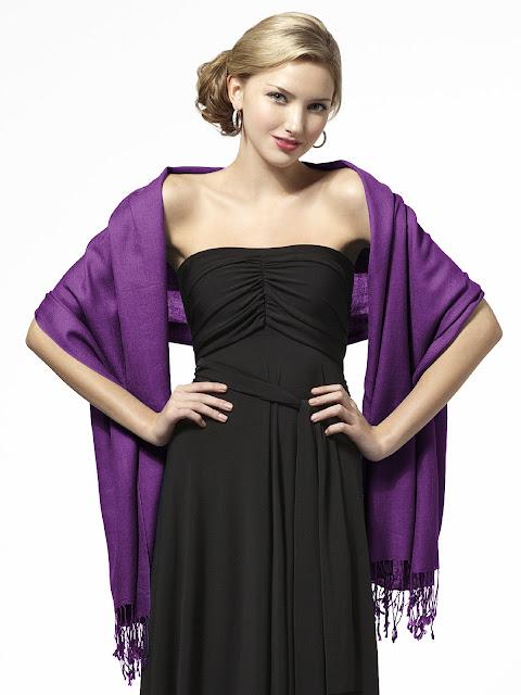 fashionable pashmina shawl for stylish look
