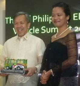Ambassador Zara Jane Juan with DTI Sec