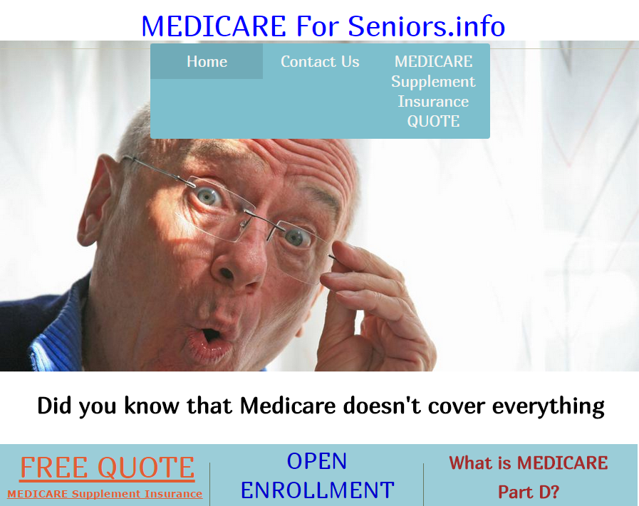 MEDICARE supplement insurance FREE QUOTE