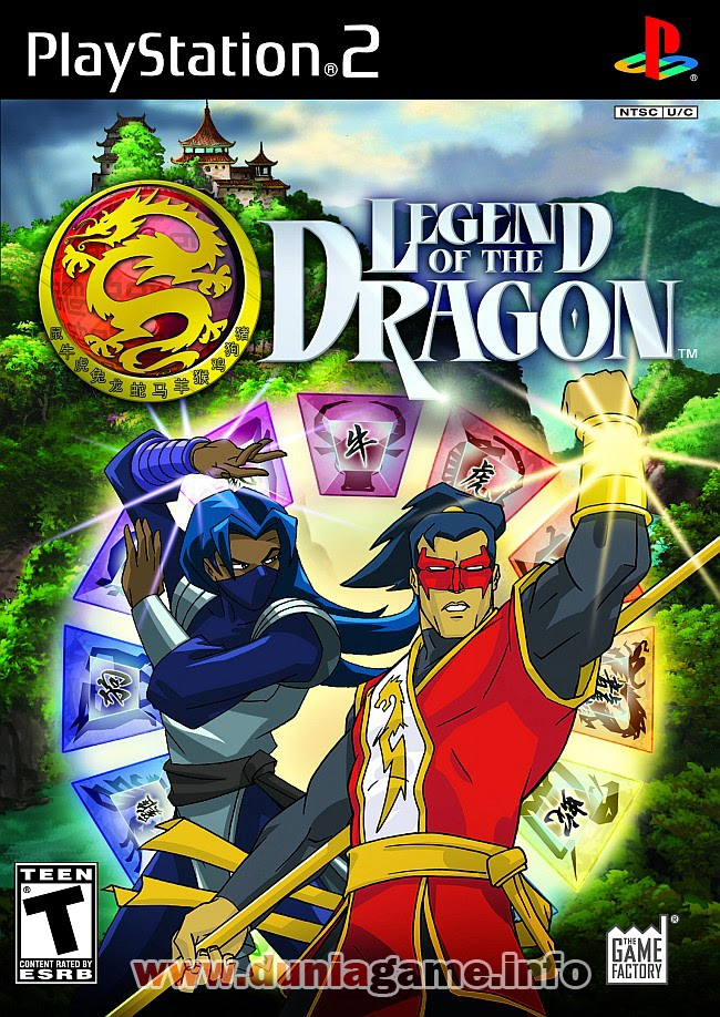 LEGEND OF THE DRAGON PS2 ISO PS2 ISO