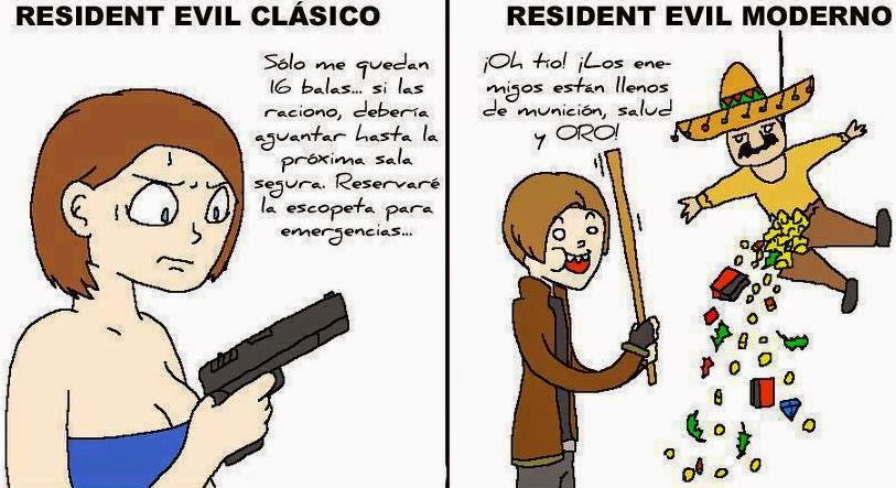 diferencias entre RE clasico y moderno
