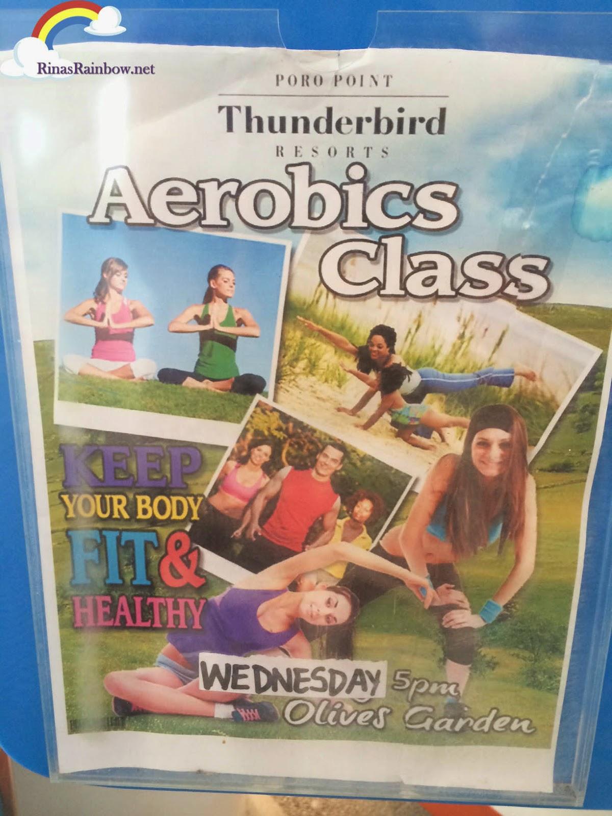 thunderbird aerobics class rates