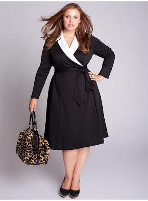 Model Dress untuk Wanita Gemuk 2015