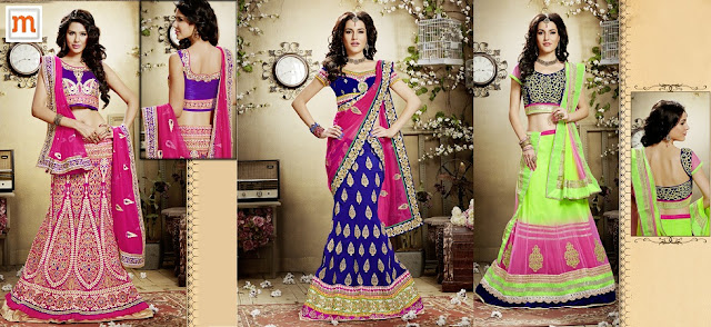 How to Buy Designer Lehengas Online at Moksha Fashions