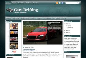 CarsDrifting Blogger Template