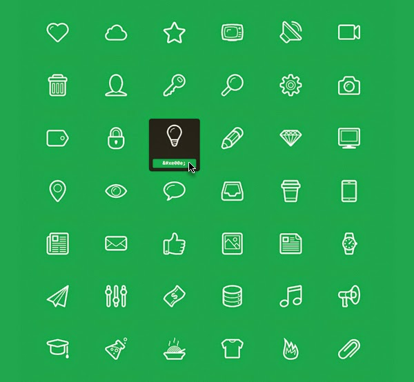 Linecons Free – Vector Icons by Designmodo...
