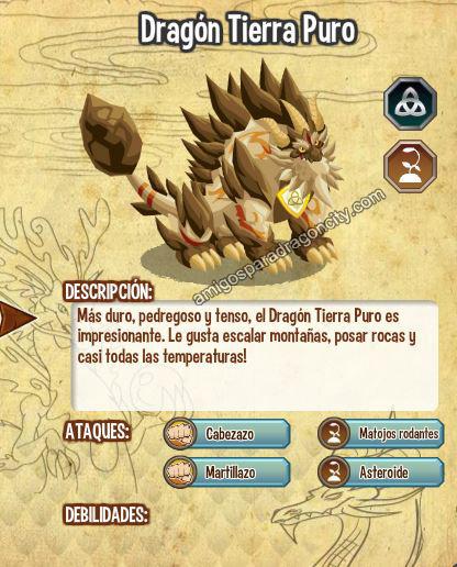 imagen del dragon tierra puro y sus caracteristicas