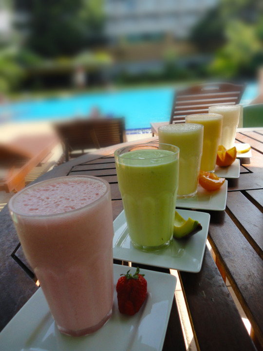 Lose fat with yummy fruit smoothies