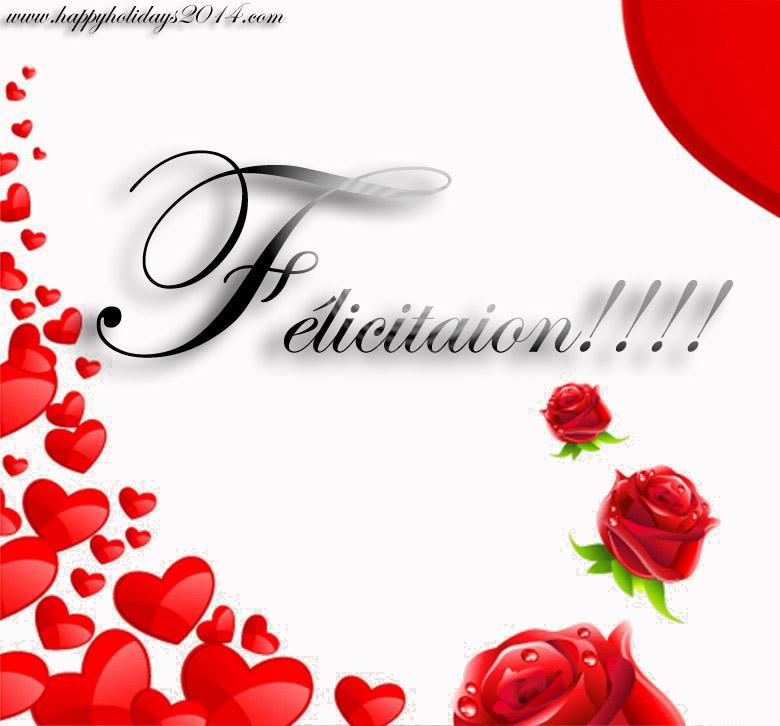 Favori Carte félicitation mariage à imprimer ~ Invitation mariage - Carte  RP58