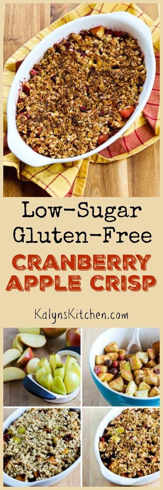 Low-Sugar and Gluten-Free Cranberry Apple Crisp - Kalyn's ...