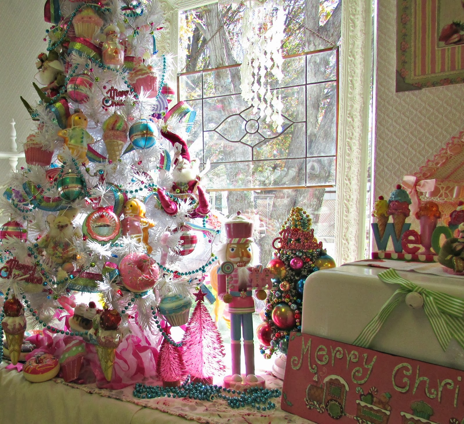 Penny S Vintage Home Candy Land Christmas Tree