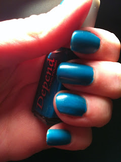 Swatch Depend 255 blue bottle