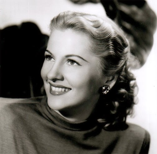 Noir And Blue Joan Fontaine