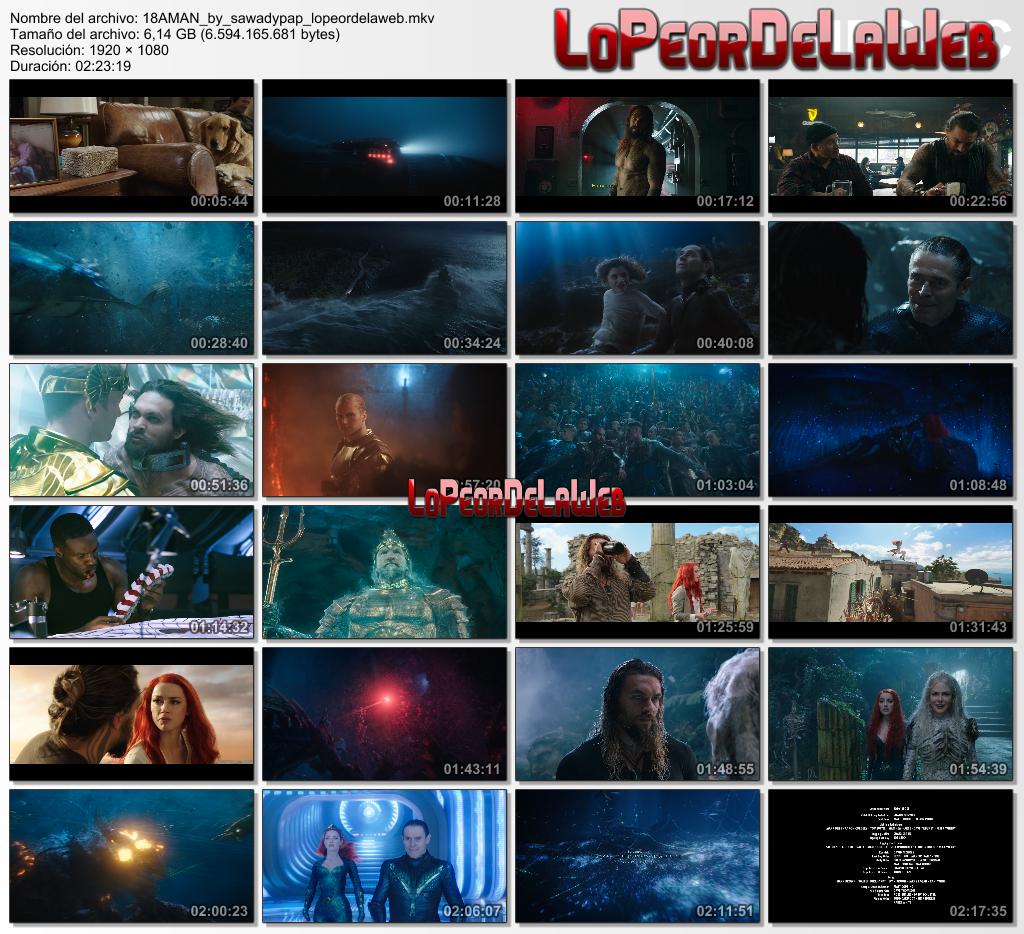 Aquaman [2018] [BBRip 1080p] [Dual Audio]