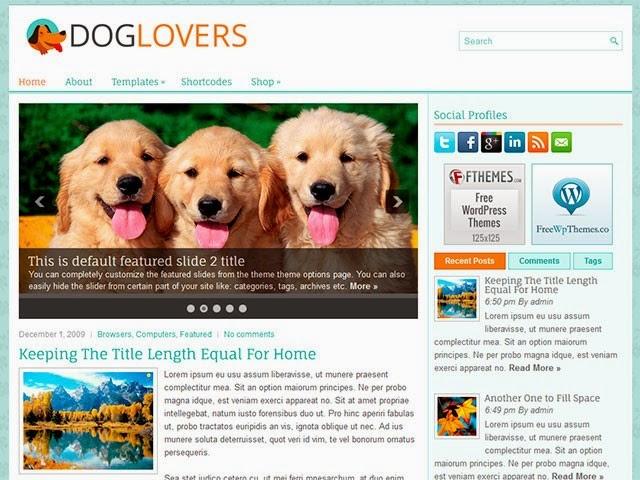 DogLovers - Free Worpress Theme