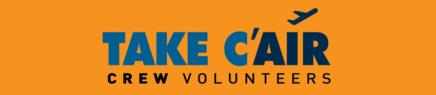 Take C'Air Crew Volunteers, Recepção de Donativos