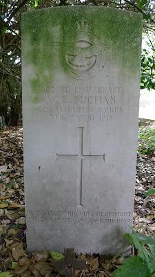 2nd Lt. W E Buchan, RFC