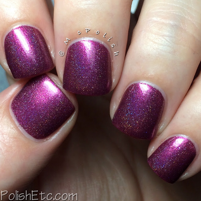 Doctor Lacquer - Chromahedron Collection - McPolish - Alamandine