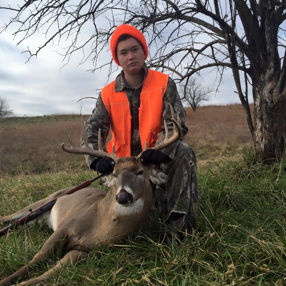 AJ's 2015 Buck