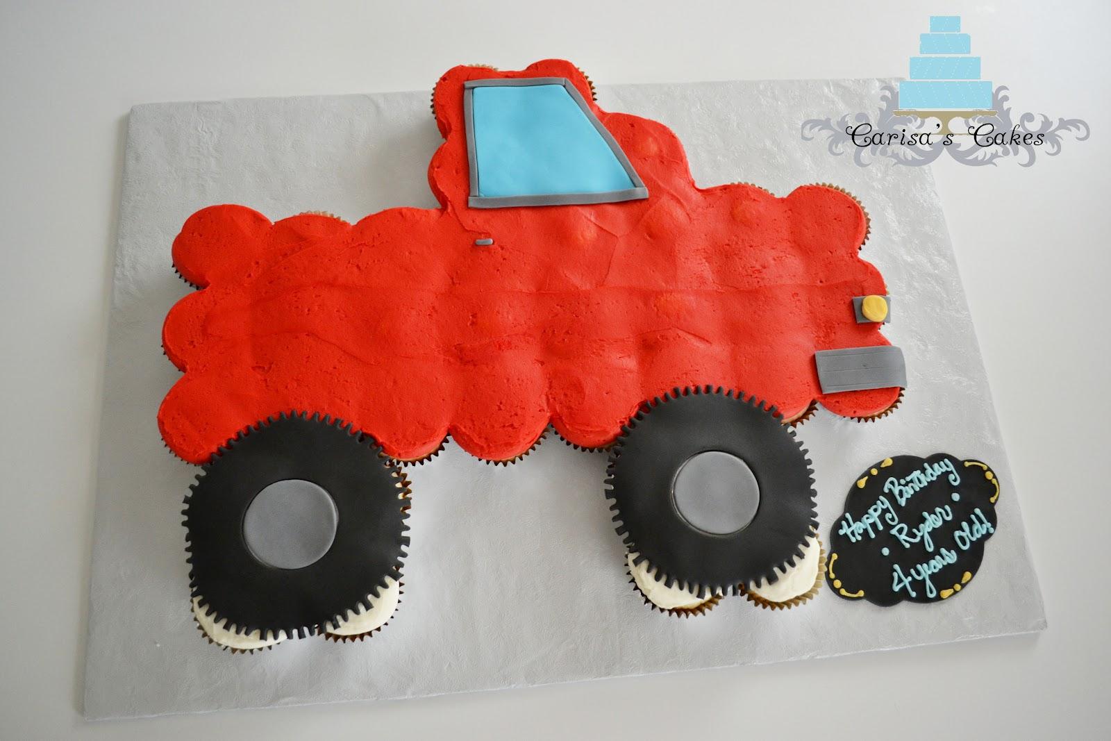 Carisa's Cakes: Truck Cupcake Pullapart