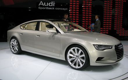 Audi A7 2011 Pictures