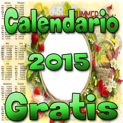 Calendario 2015 PSD Gratis Calendar 2015 Free Download