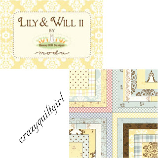 Moda LILY & WILL II Quilt Fabric by Bunny Hill Designs