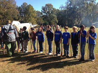 Montgomery Catholic Fourth Graders Visit the Past While Studying Alabama History 2