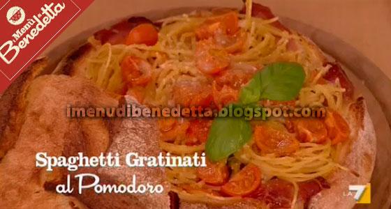 Spaghetti Gratinati al Pomodoro di Benedetta Parodi