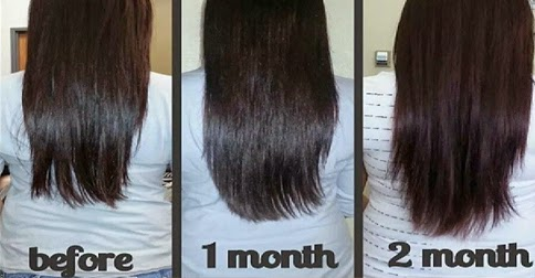how to grow long hair fast in a month