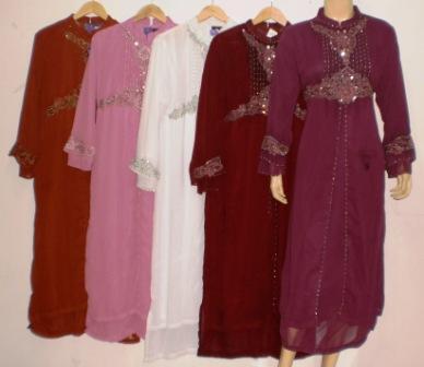 Gamis Pesta Murah Gp021 Grosir Baju Muslim Murah Tanah Abang