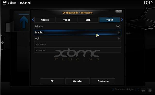 1Channel plugin XBMC