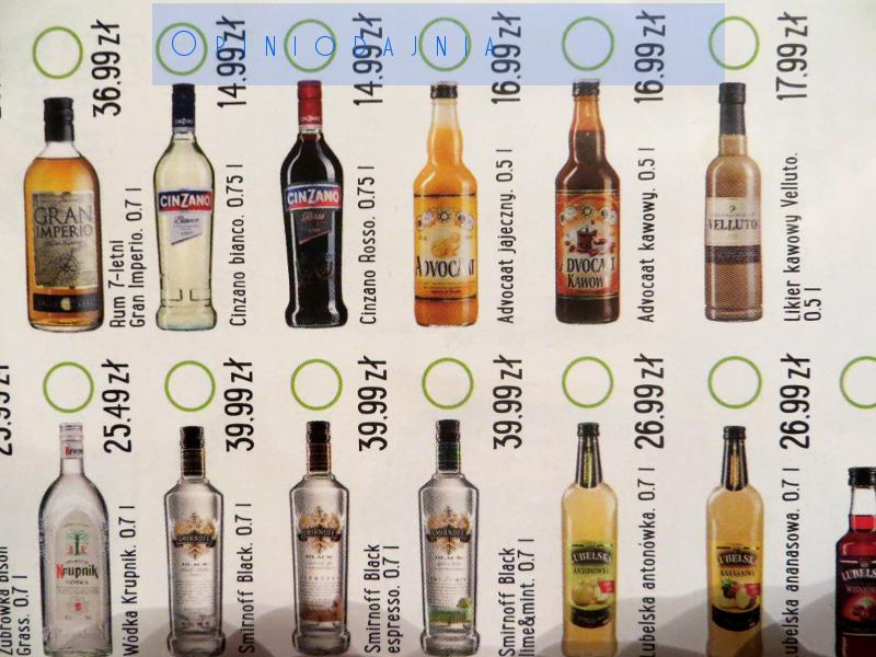 Promocja alkoholi biedronka