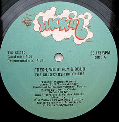 Cold Crush Brothers ‎– Fresh, Wild, Fly & Bold (1985, VLS, 320)