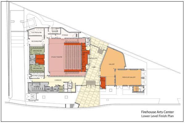 Interiors And Architectures Art Center Pleasanton California