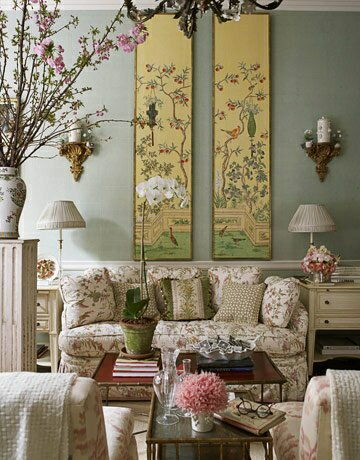 Lamb Blonde Chinoiserie Chic