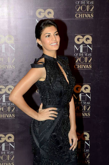 Jacqueline fernandez at GQ Men Of The Year 2012 Awards