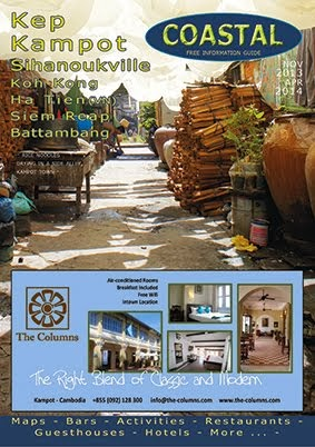 COVER OF COASTAL GUIDE.  Nov - April 2014