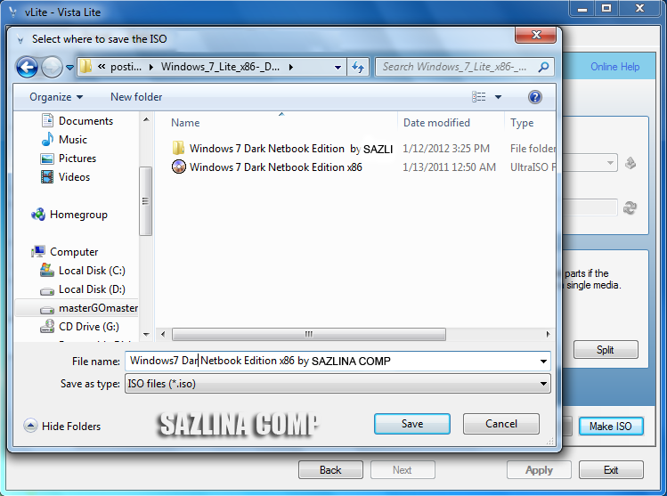 Cara Membuat File ISO Windows 7 Agar Bootable