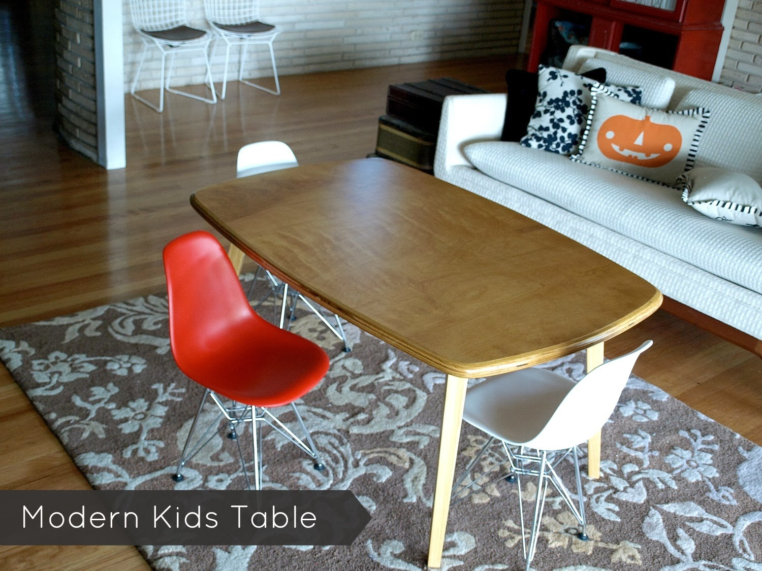 this little miggy stayed home modern kids table - tuesday october