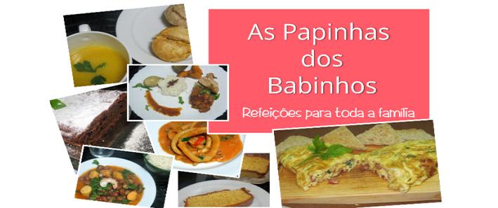 AS PAPINHAS DOS BABINHOS