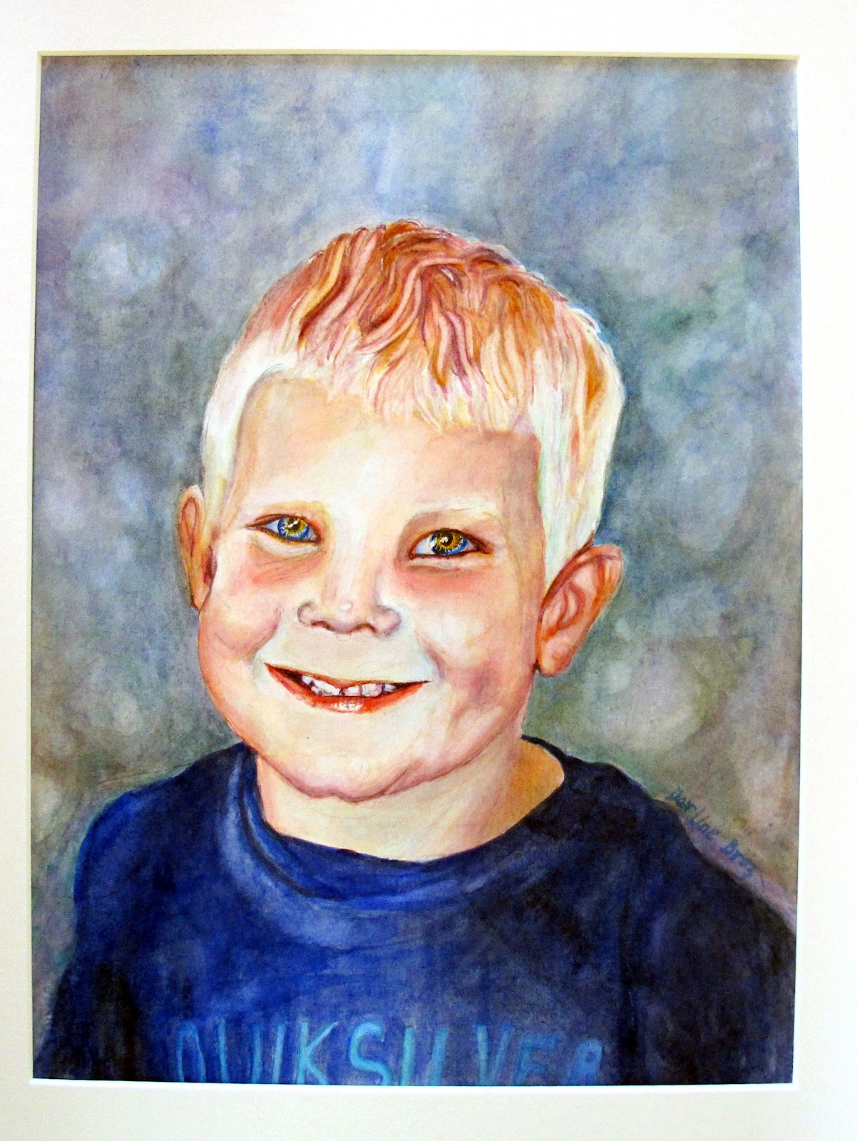 Realistic Watercolor Portraits Realistic Watercolor