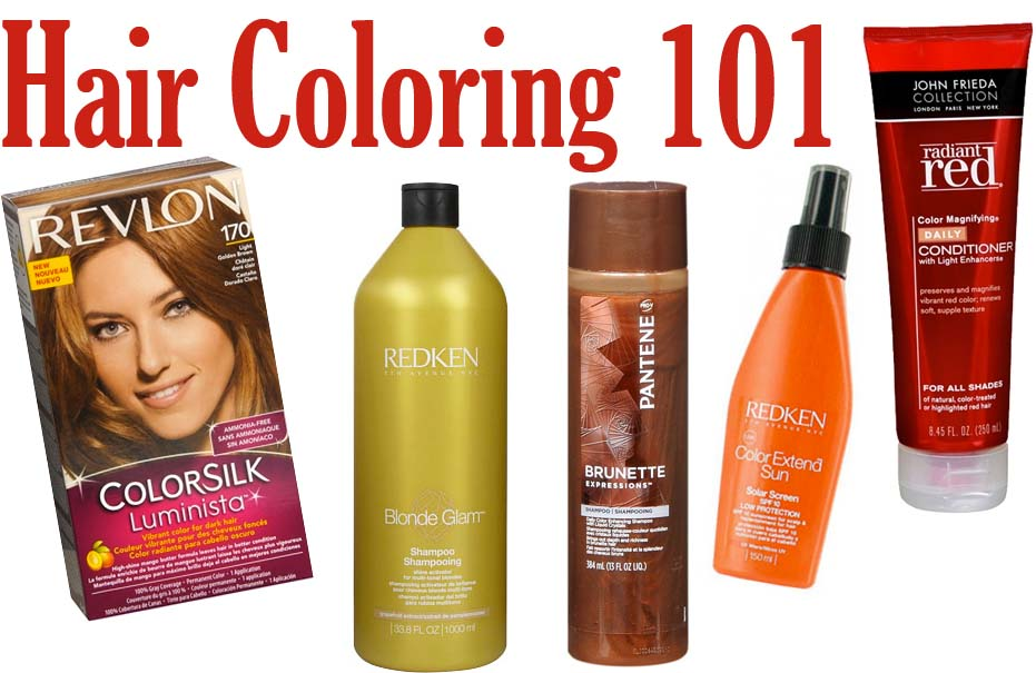 How to Dye Your Hair the Healthy Way - College Gloss