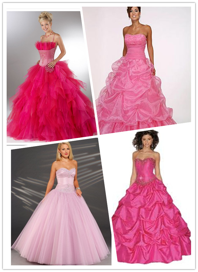 WhiteAzalea Prom Dresses: Pink Ball Gown Prom Dresses Make You to Be ...