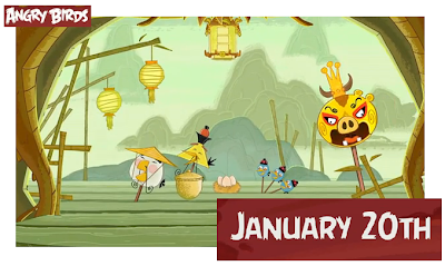Angry Birds Season update: Year of the Dragon, soon...